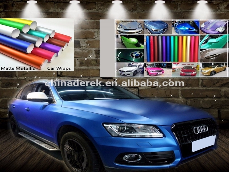 General Release Of Liability Form Car Accessories Metallic Ice Blue Matte Vinyl Wrapping Air Release