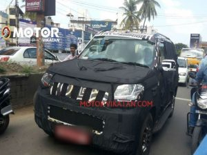 Mahindra Upcoming Bolero 2015 Mahindra Bolero U301 Interiors Captured First Time Indian